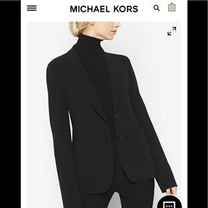 """New""Michael Kors black blazer -8"